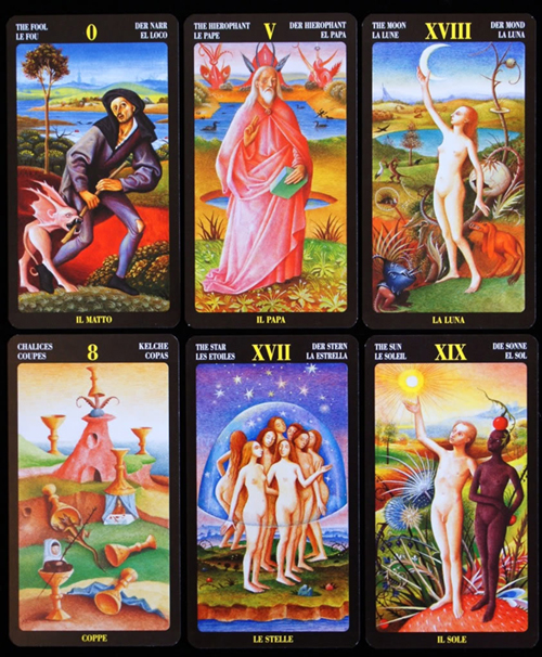 Bosch Tarot Sample Cards