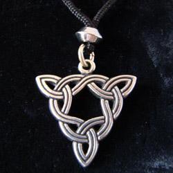 brigids knot pendant
