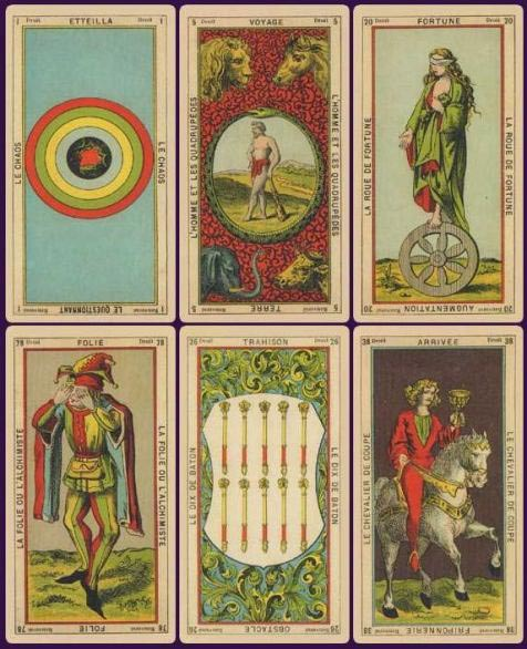 Connolly Tarot Sample Cards