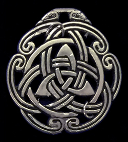 celtic peace knot talisman