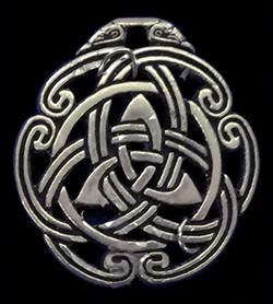 celtic peace knot talisman
