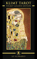 Golden Klimt Mini Tarot
