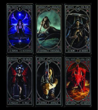 Gothic Tarot Sample