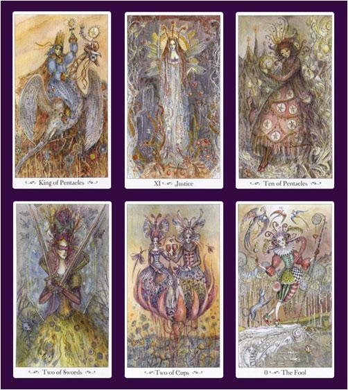 Paulina Tarot Sample Cards