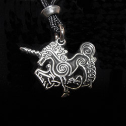 the celtic unicorn talisman