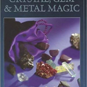 crystal gem and metal magic book