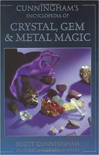 crystal gem and metal magic book