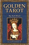 golden tarot cards
