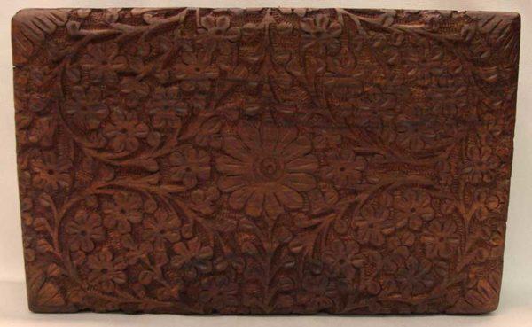 B46C Deep Floral Tarot Box