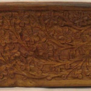 B610 carved tarot box