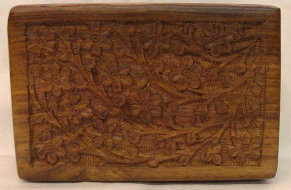 B610 carved tarot box