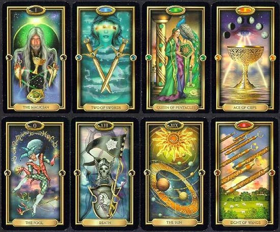 easy tarot kit sample